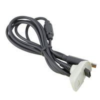 USB充電充電器日付ケーブルコードPCラインPS3 PS4 XBOX 360 LEDインジケータが付いている1つのコントローラゲームパッドのマイクロUSBケーブル
