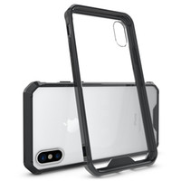 Für Galaxy S9 Plus iPhone 8 X Xs Max Xr Plus Handytasche Clear Hard Bumper Schutzhülle für iPhone 6 7 Plus