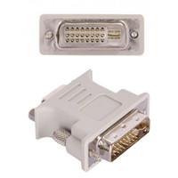 DVI DVI- I Male 24+ 5 Pin to VGA Female Video Converter Adapte...