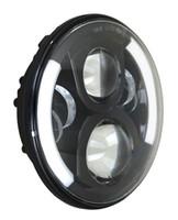 50W 7 inch Cree LED Koplamp Hi / Lo Beam voor Jeep Wrangler JK 2009-2015 Off Road 4x4 SUV Rijden Mistlamp Lamp