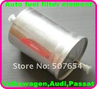 أجزاء حقيقية فلتر الوقود سيارة عناصر الألومنيوم حالة WK730 / 1، KL479،1H0201511A ل أودي A4، باسات B6، B7، TT؛ سكودا اوكتافيا؛ جيتا MK2، الغولف، بورا