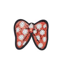10 PCS бабочки Sequined Патчи для одежды железа на передаче Аппликация Патч Джинс Сумки DIY пришить Вышивка Пайетки