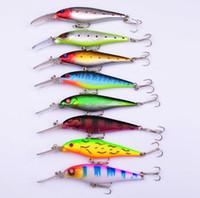 New Blabbermouth Lure Flicker Shad fishing Crankbait 11cm 28.5g 0.35oz Rattling Lip bass hard bait