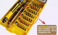 Novo 45 em 1 Multi-Bit Ferramentas Reparação Torx Screw Driver Chaves De Fenda Kit PC Phone multi tool ferramentas manuais chave de fenda conjunto