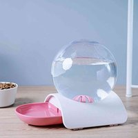 2.8L Pet Cat Dog Puppy Water Feeding Bubble Automatic Water Feeder Fountain Pets Water Dispenser Large Drinking Bowl Fountain 201109