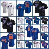 Mets Jerseys 12 Francisco Lindor 20 Pete Alonso New Yoenis York Cespedes Jeff McNeil Jacob Degrad Noah Syndergaard Darryl Strawberry Basebal