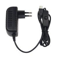 Smart Home Control 5V 3A Netzteil Ladegerät AC Adapter Micro USB-Kabel mit Ein- / Ausschalter für Raspberry Pi 3 Pro Modell B + Plus