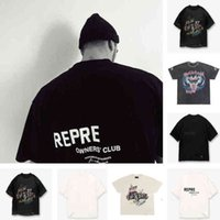 Fashion New T-shirt Men Women High Quality Summer Style the Owners Club Represent Tee Vintage hip hop Short Sleeve Autumn size S-XLmn