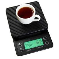 Прецизионная цифровая капельница с таймером бытовой кухни весы для взвешивания портативный электронный баланс для выпечки кофе