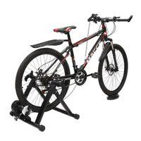 Waco Bike Trainer, магнитный велосипед стационарный подставка для подставки для внутренних упражнений, портативный, быстрый отброс шашлык переднего колеса в комплект