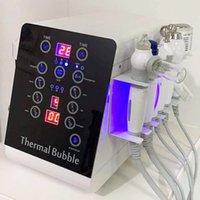 SPA-Salon-Mikrodermabrasion-Hydraffazial-Maschine für Hautpflege tragbare Wasserschale Sauerstoff-Strahlpeeling-Reinigung 6 in 1