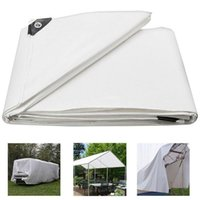 Shade Heavy Duty Poly Tarp Waterproof Tarpaulin Canopies Tent Reinforced Boat Car Cover Can CSV