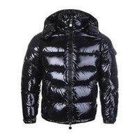 Erkekler Kadınlar Aşağı Ceket Parlak Mat Aşağı Palto Erkek Açık Sıcak Tüy Elbise Unisex Kış Sıcak Ceket Dış Giyim