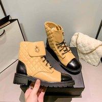 럭셔리 브랜드 신발 디자이너 부츠 하이힐과 정품 가죽 야외 패션 Womens Boot home011 50