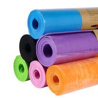 Yoga Mats Pilates Set Non-slip Gymnastics For Women Exercise Mat Bulk Home Gym Fitness Travel Sports Cushion With Bag