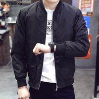 Bomber Jacket Men Casual Fashion Slim Spring Sportswear Motorcycle Mens Jackets For Male Coats Plus Size 4XL Men's