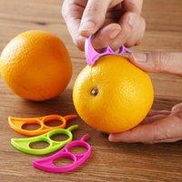 Plastic Orange Peeler Tool Kitchen Accessories Useful Lemon Grapefruit Fruit Slicer Easy Stripper Remover Knife Cooking