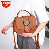 small bag tide Korean wild fashion round messenger Western style single shoulder female #L773