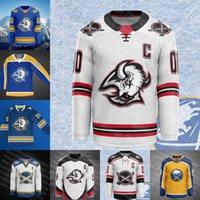 2021 Buffalo Sabers Owen Power Hockey Jersey Jack Eichel Jeff Skinner Rasmus Dahlin Taylor Hall Cody Eakin Kyle Okposo McCabe Frolik Rodrigues Pominville Jerseys