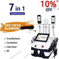Ultime criolopolisi macchina Criolipolisis Attrezzatura perdita di peso Cryolipolysis del corpo Shaping Dispositivo Ultrasuoni Cavitazione Lipolaser Slim