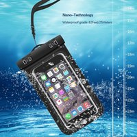 Phone Cases Universal For iphone 7 6 6s plus samsung S9 S7 Waterproof Case bag Cell Water proof Dry smart up to 5.8 inch diagonal