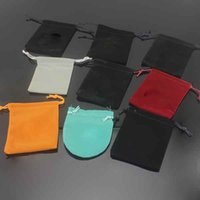 Top Quality Jewelry Pouches Classic Style Velvet bag Earrings Studs Bracelets Rings Bangles Designer Bags Wholesale