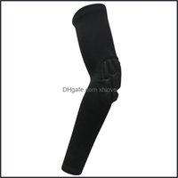 Sicurezza del gomito Atletico come alzata all'aperto Ginocchiere 1pc Sport ARM Sleeve Protective Protective Long Protector Guida per la bici Manicotti per il gioco all'aperto B