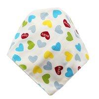 Baby Triangle Saliva Toallas Dibujos animados Driblar Bibs Newborn Cotton Turban Unisex Feeding Bib Infantil Ocio Ropa 42 Diseños BT5792 123 Y2