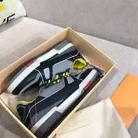 2021 Designer Casual Sport Shoe Shoe Allenatore Scarpe sportive TPU Combinazione Combinazione Sneakers Bottom Size 39-45