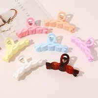 Pinkycolor Twist Jaw Clips Girl Frosting Back Of The Head Hair Claw Clip Simplicity Exquisite Nonslip Hairs Holder Fashion Accessories