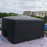 Индивидуальный гигантский кубик шатер шатер баллон надувной кубической формы реклама рекламированная торговля