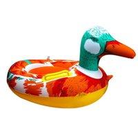 Bebê natação inflável anel flamingo alta qualidade pvc crianças desenhos animados cofres cofres flutuadores flutuadores piscinas acessórios sqctlv buy_home
