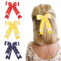 Hair Accessories Valentine's Day Fashion Kawaii Dot Ribbon Bowknot Hairpins Clip Barrettes Hairgrips Scrunchie For Girls