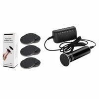 Set File File Callus Removedor Herramienta: 1 80 Grit Sandpaper Discs UE Plug Pedicure Pedicure Limpiadores de aspiradoras