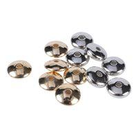 20-500PCS / Lot 4-18mm Gold Rhodium Plot Ble Perles Ensemble d'entretoises de bricolage Accessoires de bricolage en vrac Perles de fabrication de bijoux Fournitures 1374 Q2