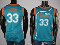 The Fresh Prince of Bel-Air 33 Jackie Moon Tropics Semi Pro Movie Men's Jersey 100% Stitched High Quality Basketball Jersey Embroidered