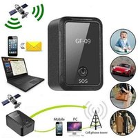 Mini Car GPS Tracker Rastreador GF09 Waterproof Drop Shock Alarm Voice  APP Control Locator