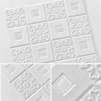 Fonds d'écran Plafond Decoration Sticker Sticker Foam Papier Petite Chambre Fond D'écran Auto-adhésif Salon 3D