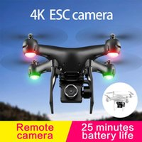 Drones RC Drone UAV With Aerial Pography 4K HD Pixel Camera Remote Control 4-Axis Quadcopter Aircraft Long Life Flying Toy