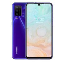 DOOGEE N20 PRO, 6GB + 128 Go de caméras quadruple en arrière, identification d'empreintes digitales, batterie 4400mAh, écran d'eau d'eau de 6,3 pouces Android 10.0