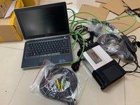 أدوات التشخيص Super MB SD Connect C5 مع EST Software 2021.03V SSD Star Tool Vediamo / X / DAS / DTS E6320 Laptop CPU