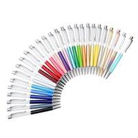 أقلام حبر جاف فارغة بلينغ 2 في 1 سليم كريستال الماس حبر جاف بريق ستايلس لمس القلم diy الأقلام 13 اللون الحرة dhl 534 {فئة}
