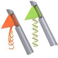 Термает многофункциональная мероприятия двулонги с точностью 3 в 1 Овощной жатрь Спиральный резатель резает кухонный инструмент HWE8111