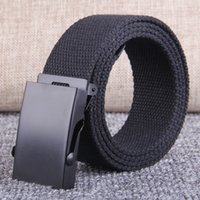 Belt Designer Luxury Quality Training , Military Buckle, Men's and Women's Personalized Canvas , Trouser Can Be Lengthened