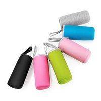 Sport Wasserflasche Abdeckung Neopren-Isolator-Hülsenbeutel Case Taschen für 550ml Tragbare Vakuumbecher Set Camping Zubehör Lagerung