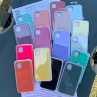 Cell phones Official Original Silicone Logo Cases Cover for iPhone 6s 7 8 plus X XR Xsmax 11 12 mini pro max 13mini 13 pro promax