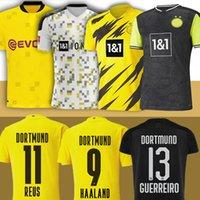 Borussia Haaland Reus Bellingham Dortmund Soccer Jerseys Sancho Hazard Men Kids Kit Brandt Football