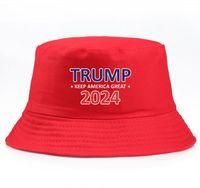 Простой козырь ковшовый Sun Cap USA президентские выборы президентский козырь 2024 рыбацкий шляпа пружины летние осень солнечные шляпы 3 стилей с разными цветами