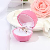 Jewelry Pouches, Bags Gift Ring Box Display Holder Functional Container Rose Flower Package