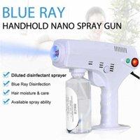 Ręcznie odbywające się elektryczne włosy nano pistolet natryskowy Niebieski dezynfekcja lekka Dezynfekcja 1200W High-Power Household Cleaning Tool Dogodne i praktyczne